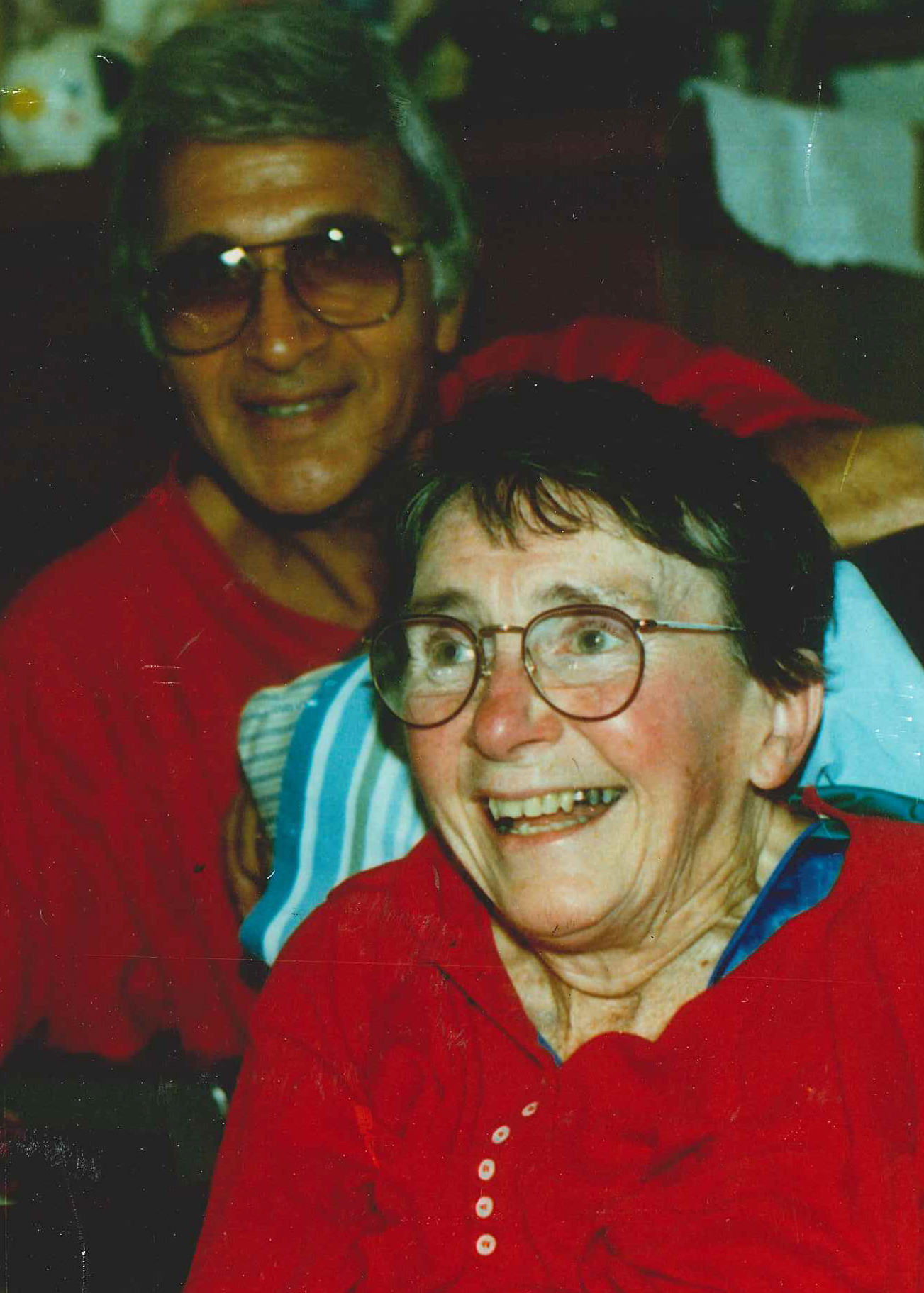 Neag School Professor Emeritus Vincent Rogers, pictured here with his late wife, Chris.
